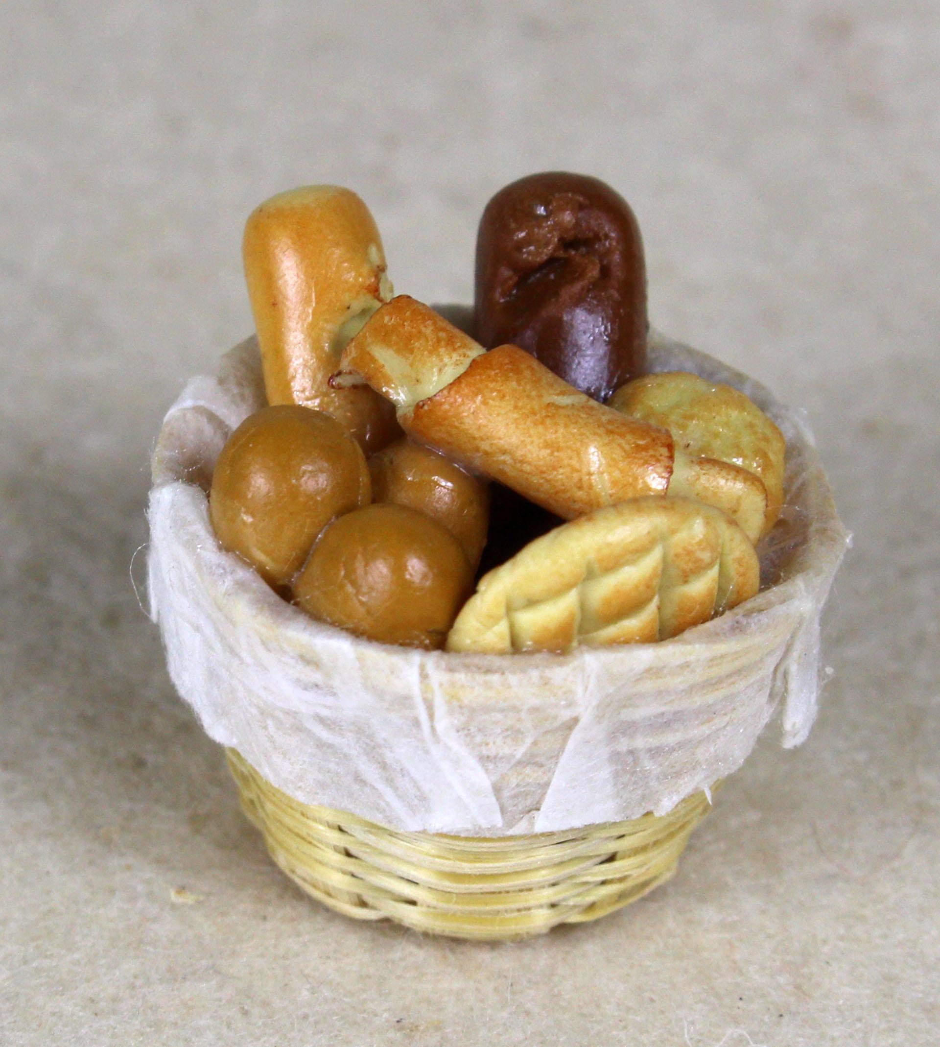 Brotkorb befüllt
