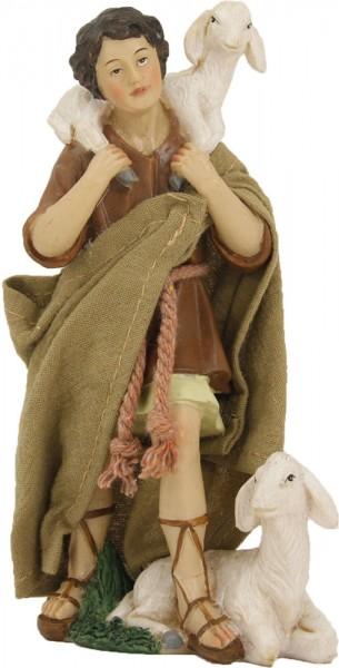 Ankleidefigur Hirte mit 2 Schafen orientalisch, für 13cm Figuren