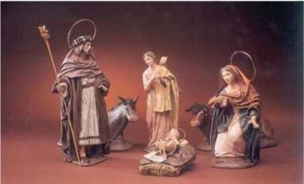 Krippenfigur Heilige Familie5