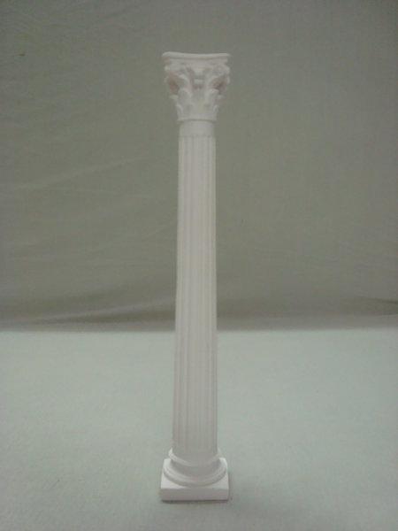 Säule weiß, Höhe 29,5cm