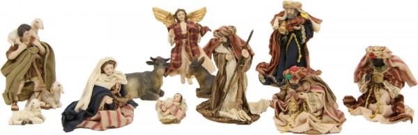 Ankleidefiguren Krippe orientalisch 11-tlg., für 10cm Figuren