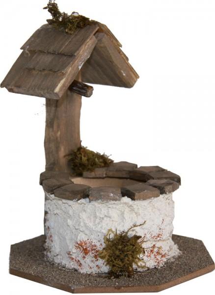 Brunnen rund, Höhe 12cm