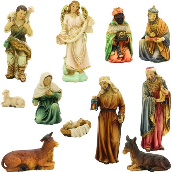 Krippenfiguren orientalisch 11-tlg