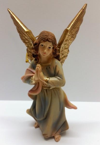 Engel stehend blau für 9cm Figuren