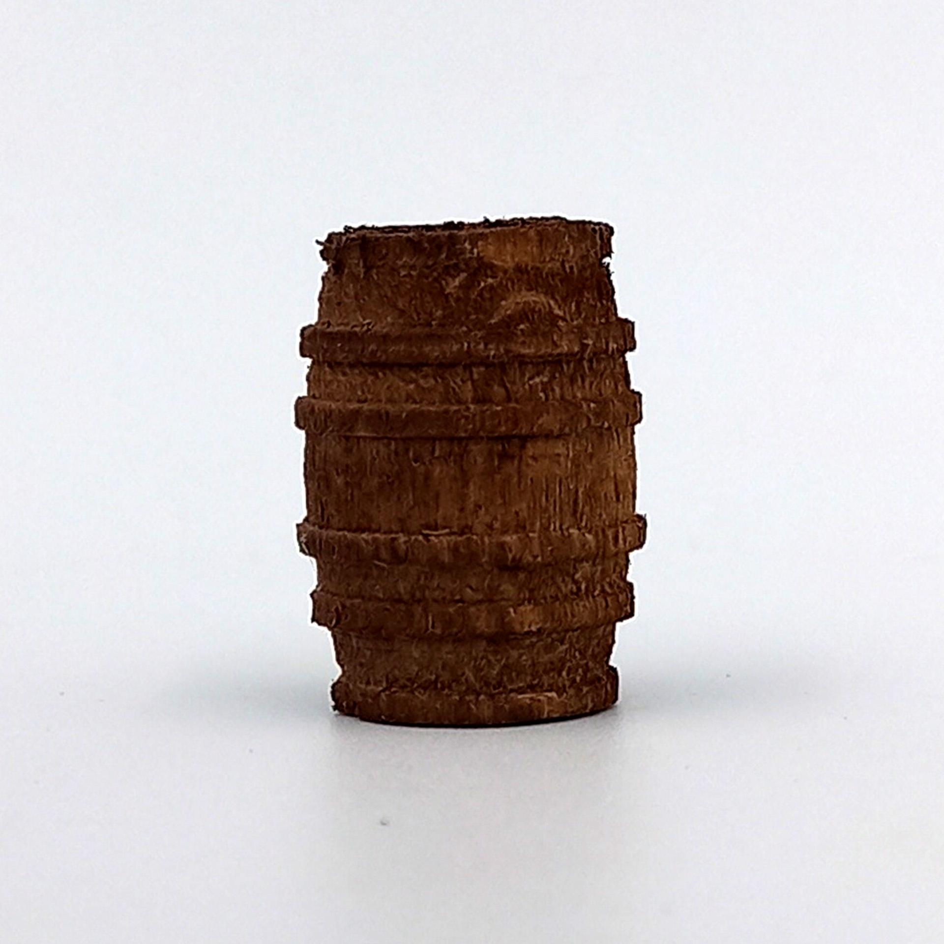 Holzfass mini 2cm Krippenzubehör