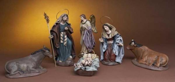 Krippenfigur Heilige Familie