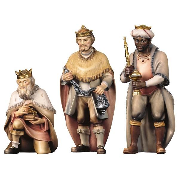 Krippenfigur Hlg. Drei Könige Hirten Krippe color