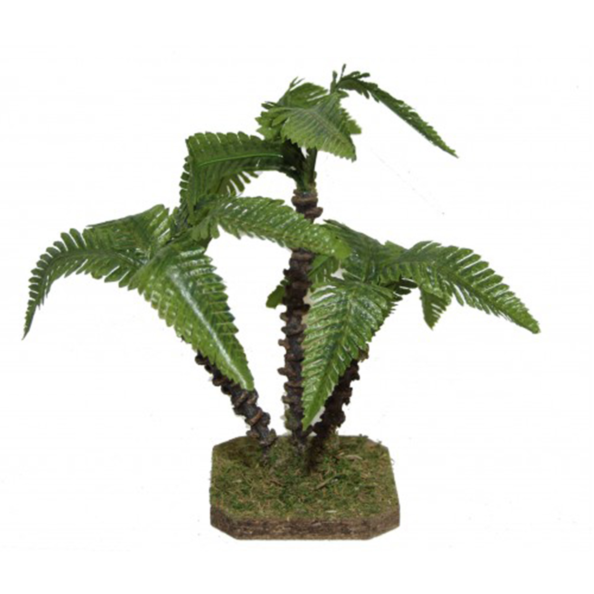 Dreier-Palme hellgrün, Höhe 23cm