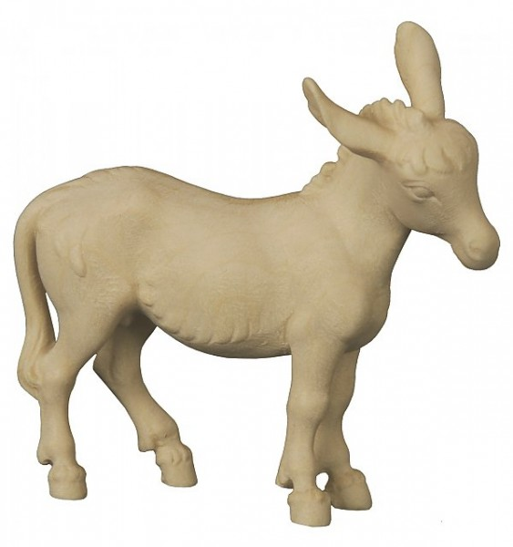 Krippenfigur Esel stehend Bethlehem Krippe natur
