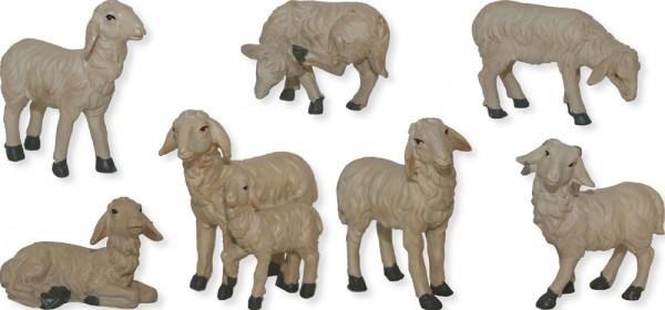 Schafe 7-tlg., Höhe 4,9cm
