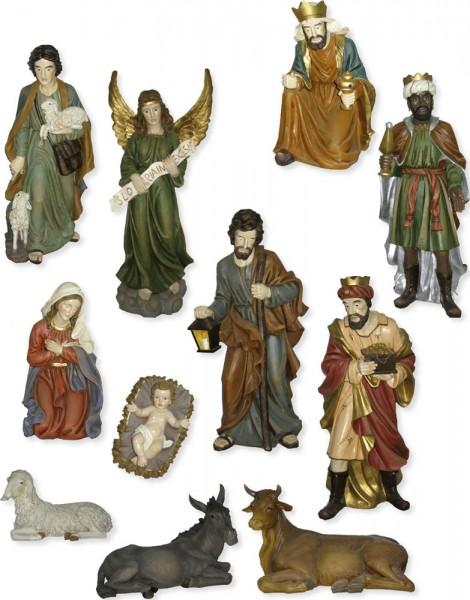 Krippenfiguren lebendgroß 11-tlg., für 150cm Figuren
