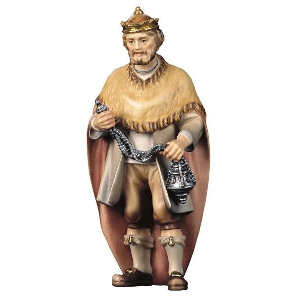 Krippenfigur König Hirten Krippe color
