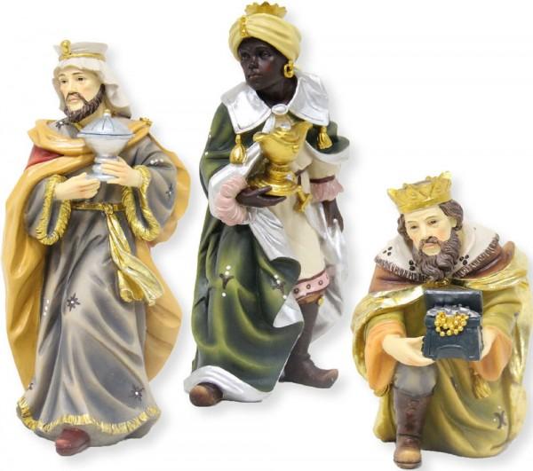 Hlg. drei Könige Mathiaskrippe 3tlg. für 15cm Figuren
