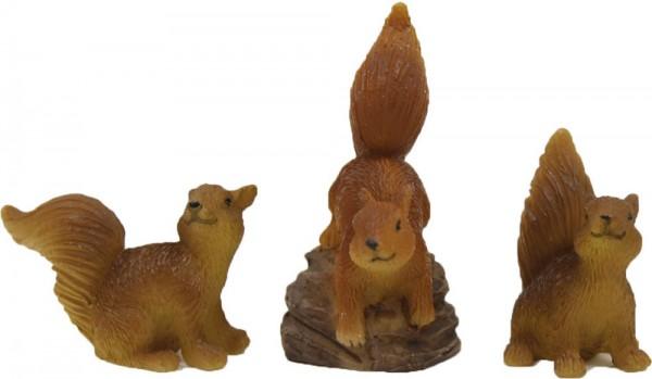 Eichhörnchenset 3tlg.