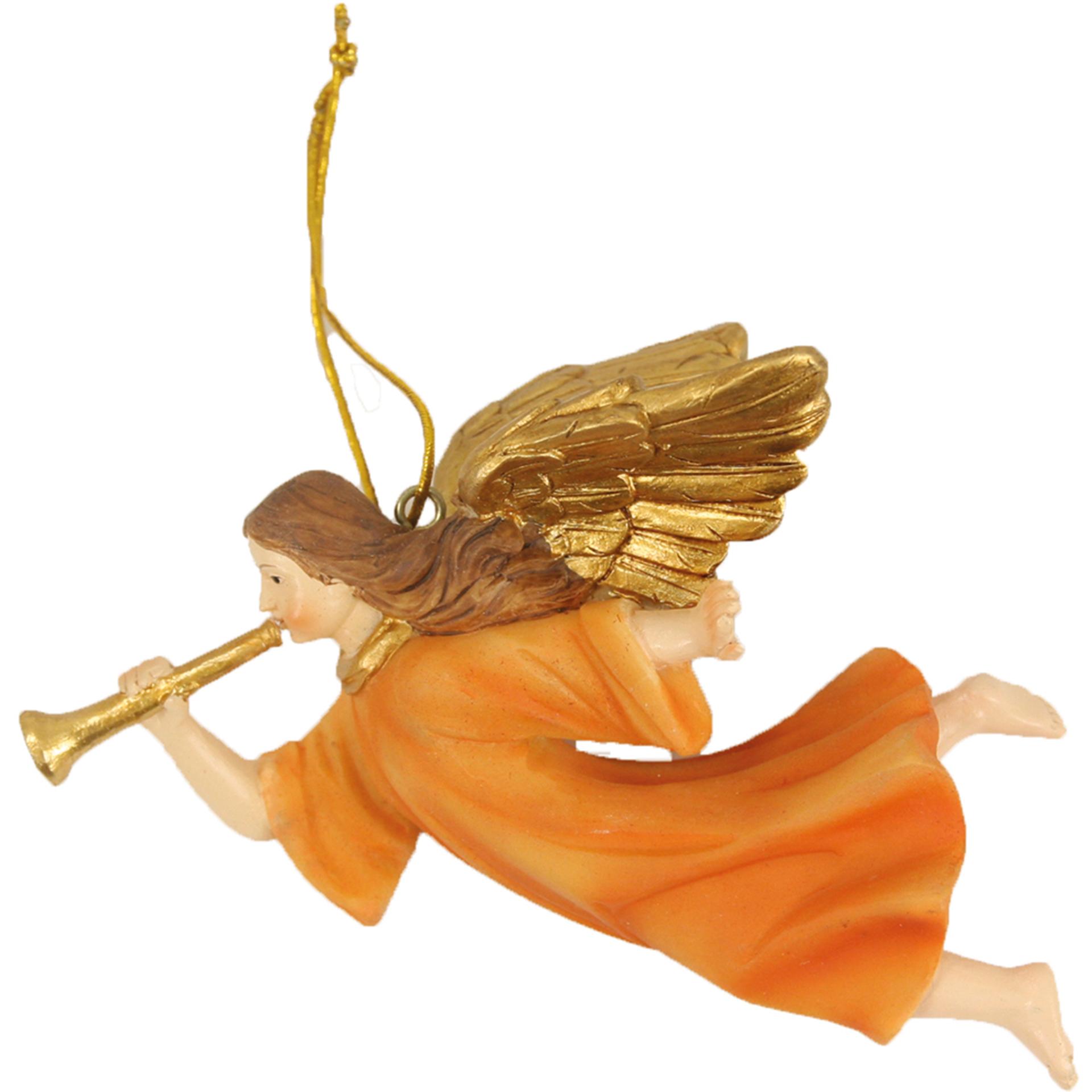 Engel fliegend mit Posaune
