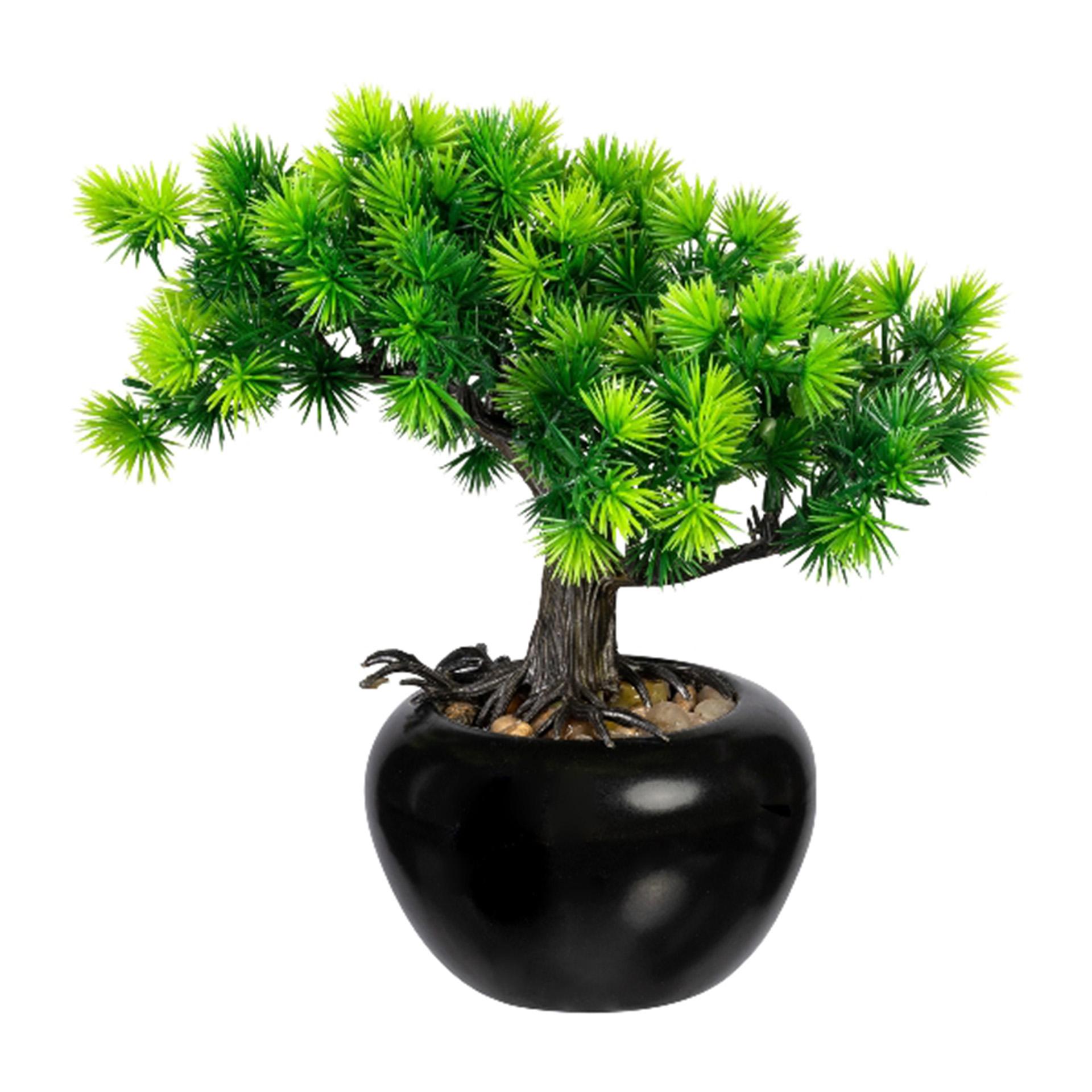 Kunstpflanze Bonsai Lärche 19cm