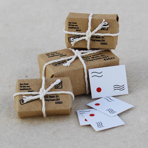 Pakete und Briefe, Set für Wichtel