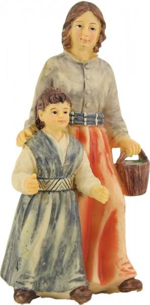 Magd mit Kind für 8cm Figuren