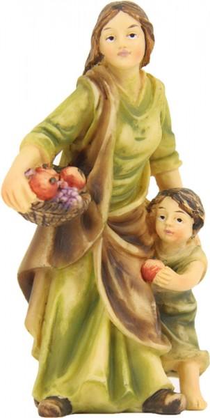 Magd mit Kind für 12cm Figuren