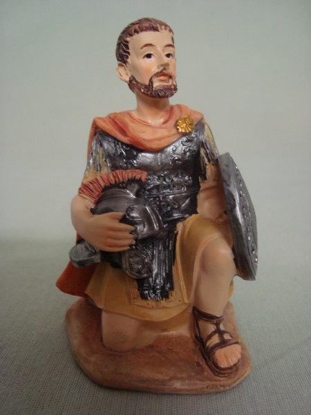 Legionär kniend, für 7cm Figuren