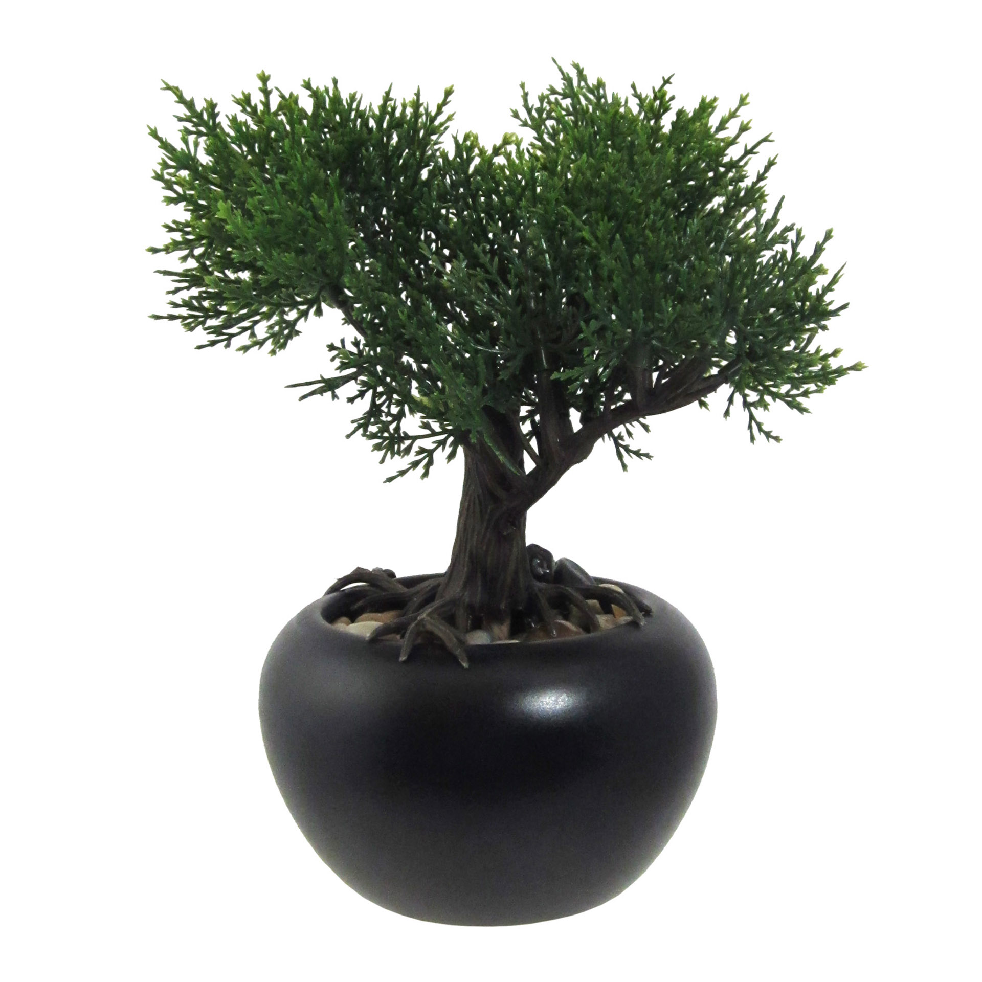 Kunstpflanze Bonsai Zeder 19cm