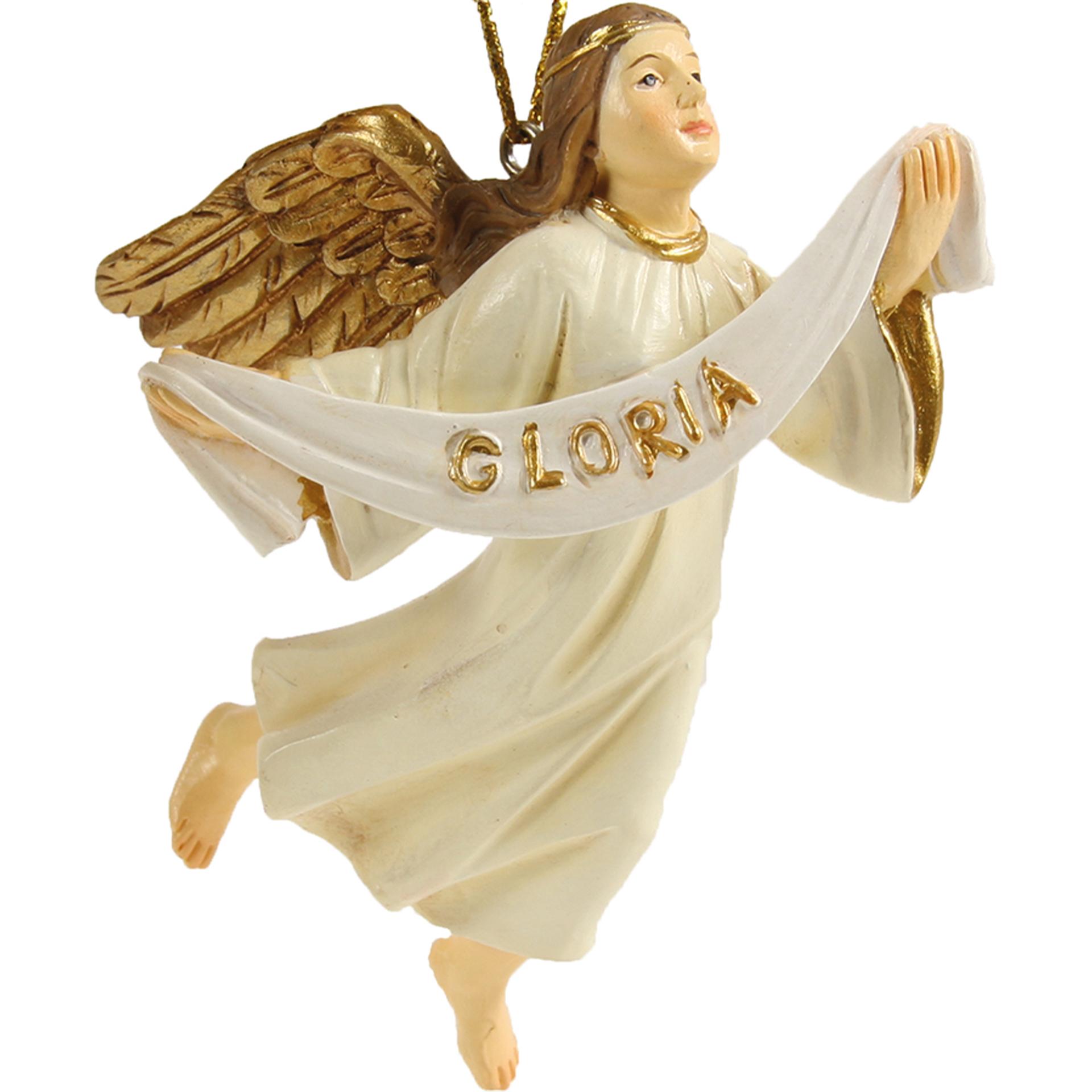 Engel fliegend mit Gloriabanner