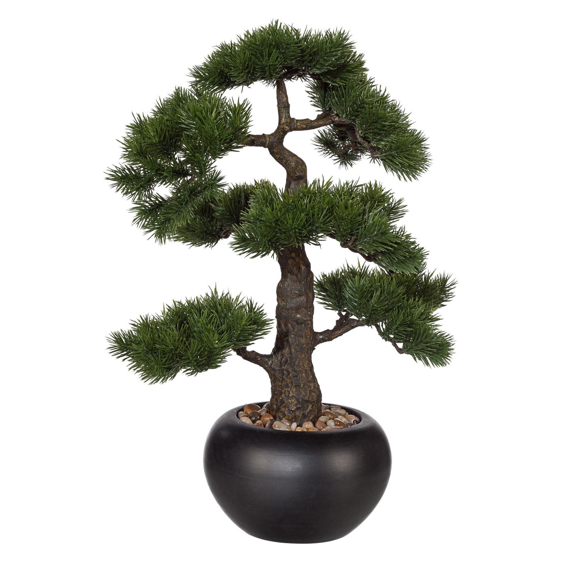 Kunstpflanze Bonsai Kiefer 48cm