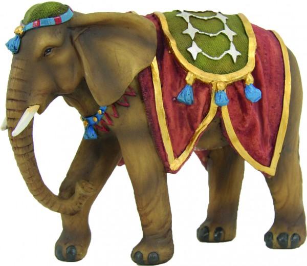 Elefant mit Decke
