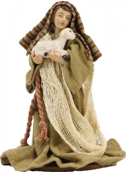 Ankleidefigur Hirte mit Schaf orientalisch, für 10cm Figuren