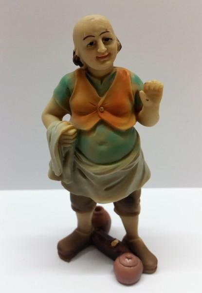 Hauswirt abweisend mit Tuch für 11cm Figuren