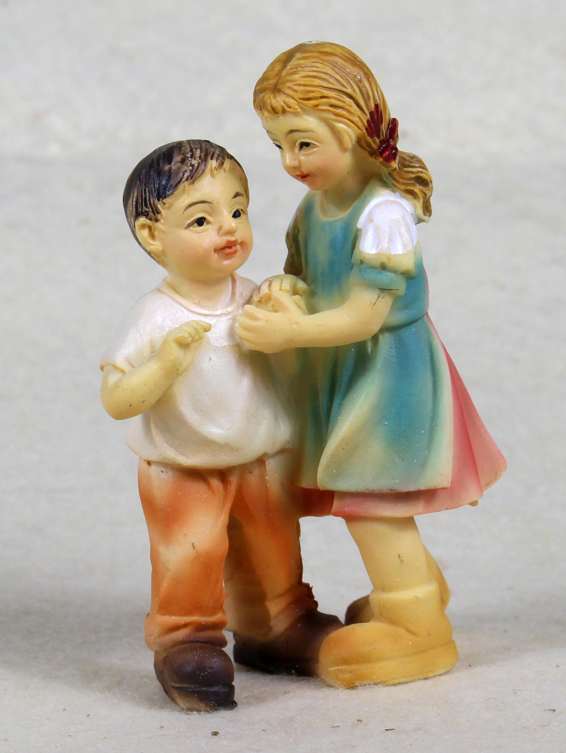 Junge und Mädchen, für 10-11cm Figuren